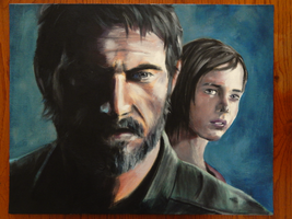 Oil Painting - The Last of Us by DeannART