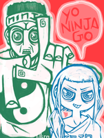 enter the ninja by Child-Of-Neglect
