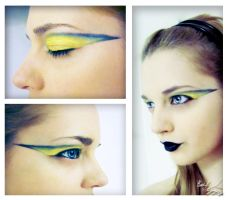 Hogwarts Make up: Hufflepuff by 3luvingGreen