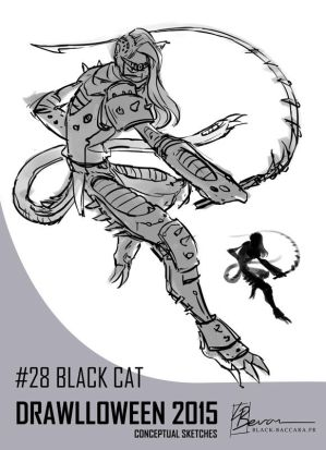 DH28 blackcat by laurabevon by LauraBevon