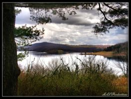 Round Valley Reservoir 2 by Dracoart