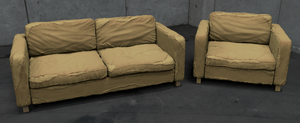 Post-Apocalyptic Furniture - Keyshot Render by J-L-Art
