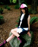 Touko: Sitting Pretty by AnyaPanda