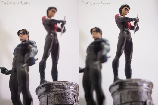 Nightwing - Perspectives by Blaqueluna