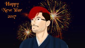 Markiplier - New Year 2017 ~ Year of The Rooster by OnlyIfItsFluffy