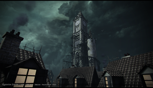 Clock Tower by Lord-Tenshi