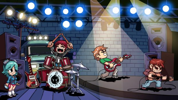 Scott Pilgrim Wallpaper by Blacksabbat