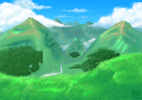 mountain test by VK94