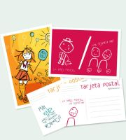 Type postal card 02 by Aguiluz