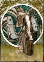 How Nimue Stepped Into The Enchanted Realm by PennyLame