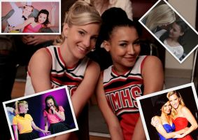 Brittana Collage by ElizabethBlackMalfoy