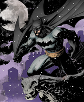 Batman Snow by LazerBat