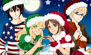 Christmas Pic by ilovesonic07