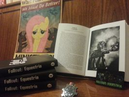 Russian print edition Fallout: Equestria by oo00SET00oo