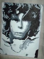 jim morrison by tyrannosaurussex
