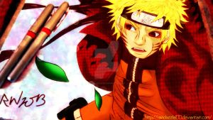 Warrior Of Wind - Uzumaki Naruto by Randazzle100