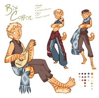 Bix Coprin ref by Aviator33