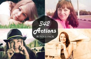 342 Premium Photoshop Action Bundle by sfahmad2kf