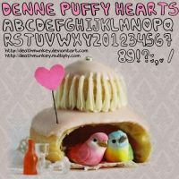 Denne Puffy-hearts by deathmunkey