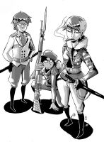 Fictional Military Designs 1 by ToxicToothpick