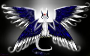Dragon Angel by Deathtail-The-DraCon