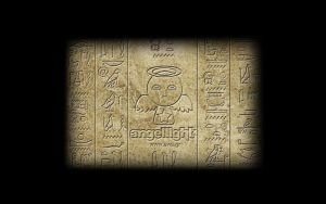 Ancient Inscription, Wide by angel69light