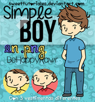 Simple Boy! BHR by iBeHappyRawr