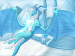 The Ice Queen (commission) by Tomek1000