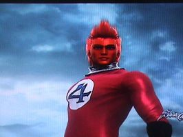 The Human Torch in Soul Calibur 5 by ltdtaylor1970