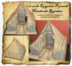 Miniature Pyramid dollhouse by grimdeva