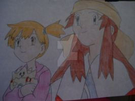 Misty and Melody by AJLeefan4life
