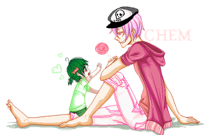 : collab : Give it herez : by sonxfanchara
