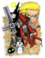 Trigun Colors by MattFranklin