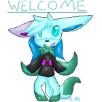 Welcome Pixel by Sketchmite