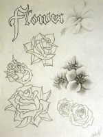 Flower Flash Page by StevenWorthey