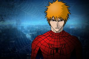 Spiderman Ichigo by DrLinuX