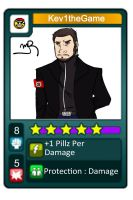Fake Urban-Rivals Card : Kev1theGame by Spipme