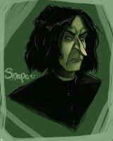 HP: Snape by kczeroo