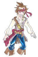 He's a Pirate Sora by terrabm