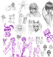 DL concept sketchdump by Wickfield