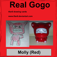 Molly - Red (Tfan0 Drawing Card #8) by tfan0