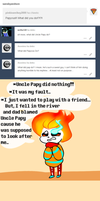 Ask Sansby and son #19 - What did Papyrus do? by TheNightmareGirls