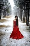 lady in red by intels