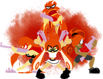 TG Splatoon - Orange Team by Quarma