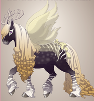 New Horse character by Shadowdannie