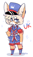A Brit ! by HoshPosh
