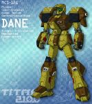 DANE - standard model (for T.I.T.A.N. 2100) by Grebo-Guru