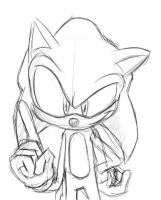 Sonic Sketch by 8bakon8