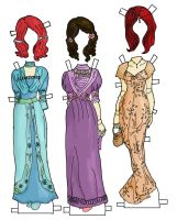 Betsy Jane Gown colors by electricjesuscorpse