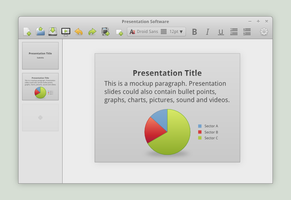 Presentation Software Concept by spiceofdesign